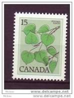 Canada, 1977, #717, Tremble, Arbre, Tree - 1952-.... Règne D'Elizabeth II