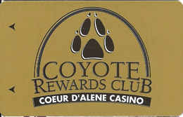 Coeur D'Alene Casino - Worley, ID - Slot Card - Casino Cards
