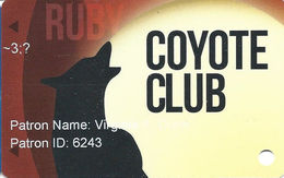 Coyote Valley Casino - Redwood Valley, CA - Slot Card - Casino Cards