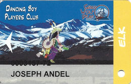 Grey Wolf Peak Casino - Evaro, MT - Slot Card - Casino Cards