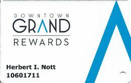 Downtown Grand Casino - Las Vegas, NV - Slot Card - Casino Cards
