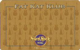 Hard Rock Casino - Las Vegas, NV - BLANK Slot Card - Casino Cards