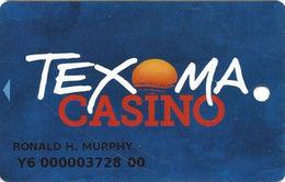 Texoma Casino - Kingston, OK - Slot Card - Casino Cards