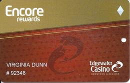 Edgewater Casino - Vancouver, BC Canada - Slot Card - Casino Cards