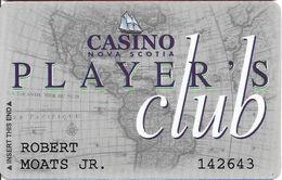 Casino Nova Scotia - Halifax & Sydney, NS Canada - Slot Card - Casino Cards