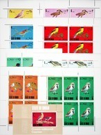 PERFORATED. OMAN. FAUNA. BIRDS. 8 SHEETS+SS. MNH. - Oman