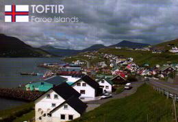 FAROE  ISLAND, TOFTIR, VISTA PARCIAL  [41851] - Faroe Islands