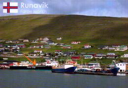 FAROE  ISLAND,RUNAVIKI, VISTA PARCIAL  [41847] - Faroe Islands