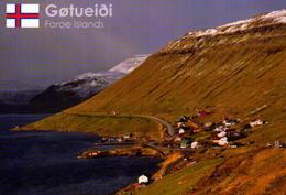 FAROE  ISLAND, GOTUEIOI, VISTA PARCIAL  [41849] - Faroe Islands