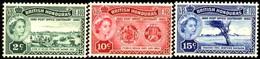 Cent. Of The Establishment Of A Local PO, British Honduras Stamp SC#156-158 MNH Set - Honduras Britannique (...-1970)