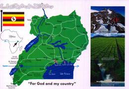UGANDA. FOR GO AND MY COUNTRY  [45177] - Uganda