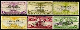 PHILIPPINES, Revenues, Warren 763-66, 769-70, Used, F/VF - Philippinen