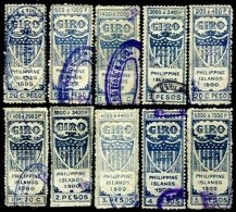 PHILIPPINES, Revenues, Used, F/VF, Cat $ 86 - Philippinen