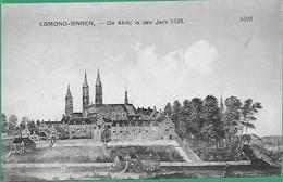 ! - Pays-Bas (Nederland) - Egmond-Binnen - De Abdij In Den Jare 1623 - Egmond Aan Zee