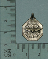 Medaille Religieuse, Medal, Medaglia - Esprit Saint, + Priere, 3 Gr - Religion & Esotericism