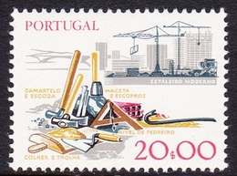 Portugal SG 1699 1978 Work Tools, 20e Construction, Mint Never Hinged - Unused Stamps