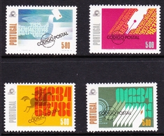 Portugal SG 1729-1732 1978 Introduction Of Postal Code, Mint Never Hinged - Unused Stamps