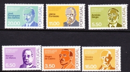 Portugal SG 1787-1792 1980 Famous People, Mint Never Hinged - 1910-... República
