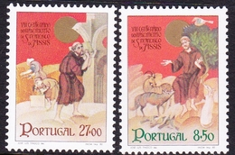 Portugal SG 1865-1866 1982 800th Birth Centenary Of St. Francis Of Assisi, Mint Never Hinged - 1910-... República