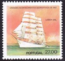 Portugal SG 1873 1982 Sports, 27e Lisbon Sailing Race, Mint Never Hinged - 1910-... República