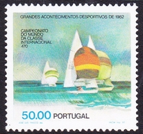 Portugal SG 1875 1982 Sports, 50e Racing Yachts, Mint Never Hinged - 1910-... República
