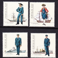 Portugal SG 1908-1911 1983 Naval Uniforms, Mint Never Hinged - 1910-... República