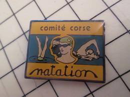 Pin810h Pin's Pins : BEAU ET RARE : COMITE CORSE DE NATATION Pour Nager En Eaux Troubles ... - Swimming