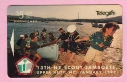 New Zealand - 1992 13th NZ Scout Jamboree $5 - NZ-E-3 - Mint - New Zealand
