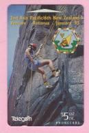 New Zealand - 1994 Scout Venture - $5 Rock Climbing - NZ-E-19 - Mint - New Zealand