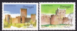 Portugal SG 2040-2041 1986 Castles 2nd Issue, Mint Never Hinged - 1910-... República