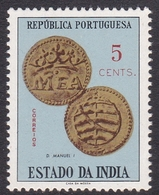 Portuguese India 1959 Coins 5c, Mint Never Hinged - Portuguese India