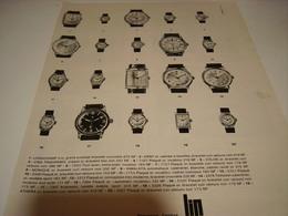 ANCIENNE PUBLICITE DIVERS MONTRE   MONTRE LIP 1962 - Bijoux & Horlogerie