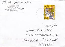 Brief In Die Schweiz (br3512) - 6. 1946-.. Repubblica