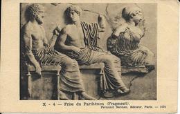 CPA ATHENES Frise Du Parthénon - Monuments