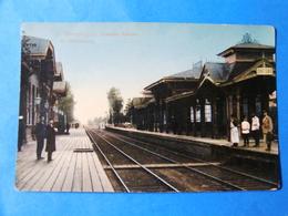 CPA RUSSIE GARE DE SAINT PETERSBOURG ANNEES 1900 - Russia