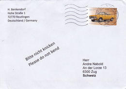 Brief In Die Schweiz (br3525) - [7] Federal Republic