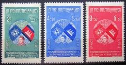 CAMBODGE              N° 63/65                   NEUF** - Cambodge