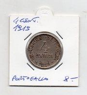 Portogallo 1919 - 4 Centavos - (FDC9544) - Portogallo