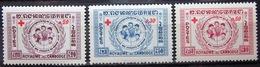 CAMBODGE              N° 81/83                   NEUF* - Cambodge
