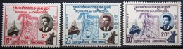 CAMBODGE              N° 84/86                   NEUF* - Cambodge