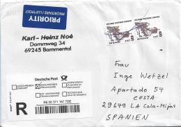 BRD1033a / Einschreiben Zum Tarif Von Euro 8,00 - BRD