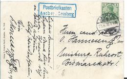 GER463 / Bildpostkarte Aachen-Louisberg, Postbriefkasten 1910 - Allemagne