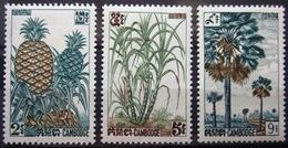 CAMBODGE              N° 125/127                   NEUF* - Cambodge