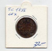 Lussemburgo - 1855 - 5 Centesimi - (FDC9546) - Lussemburgo