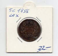 Lussemburgo - 1855 - 5 Centesimi - (FDC9546) - Luxembourg
