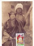 Carte-Maximum FRANCE N° Yvert 3343 (Alexandra DAVID-NEEL) Obl Ord Saint-Mandé  (Ed Fondation) - 2000-09