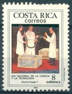 Costa Rica - 1987 - Yt 479 - Journée Nationale Sciences Et Technologies - ** - Costa Rica