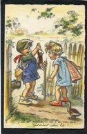 CPA - Illustration Germaine BOURET - Il Est Pépère, ... On L'a Eu Au Tournant Celui-là - Bouret, Germaine