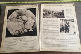 1915 REINE WILHELMINE VOLLENHOVEN PRINCESSE JULIANA MAISON D ORANGE NASSAU - Vieux Papiers