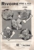 Catalogue Autumne 1940 Rivoire à Lyon - Jardinage